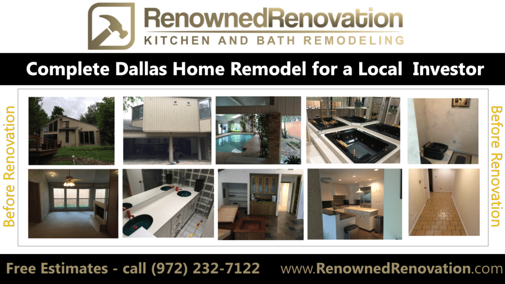Home Remodeling Investor Services