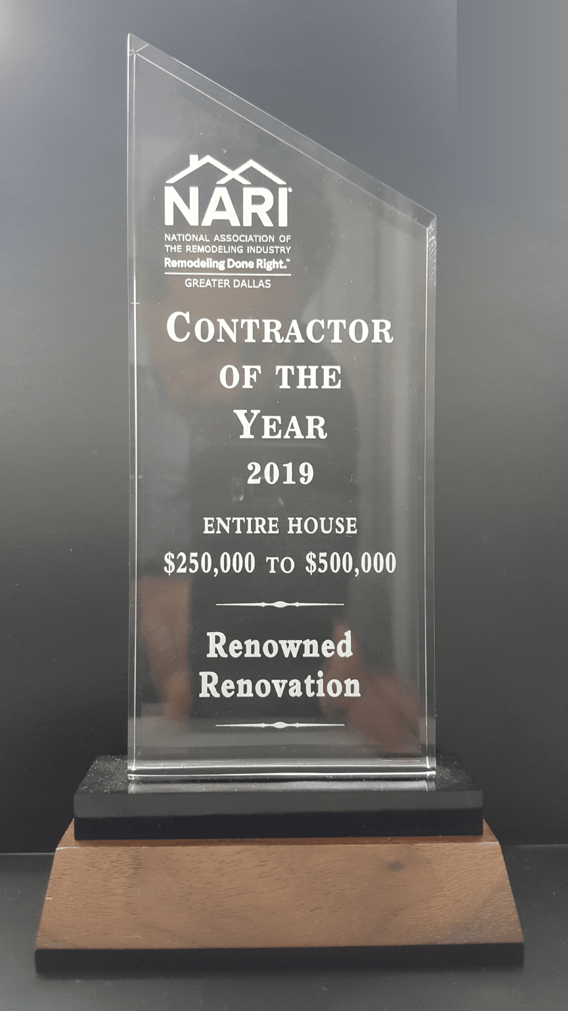 Dallas-NARI-2019-Contractor-of-the-Year-Entire-House-Remodel-$250K-$500K-Award