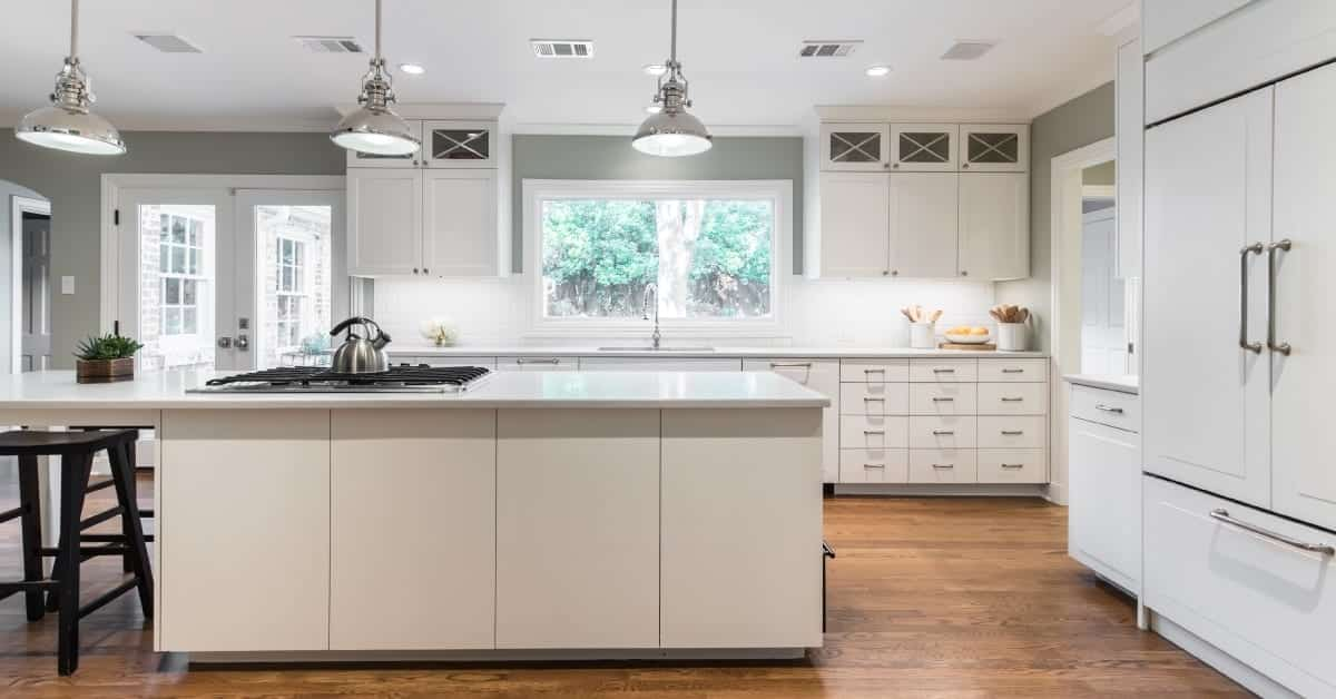 Custom-Kitchen-Cabinets-dallas-Texas-with-New-Island Dallas TX