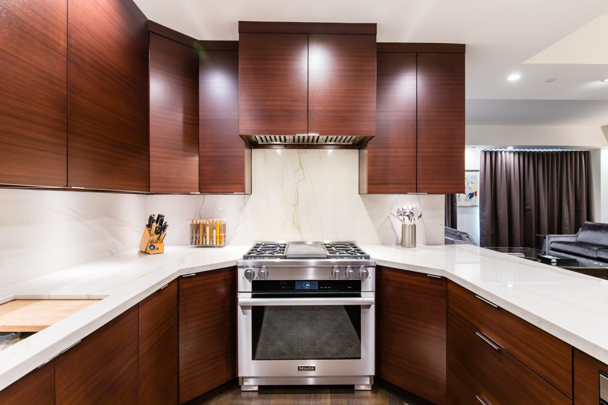 Upper Level Condo Kitchen After Remodeling