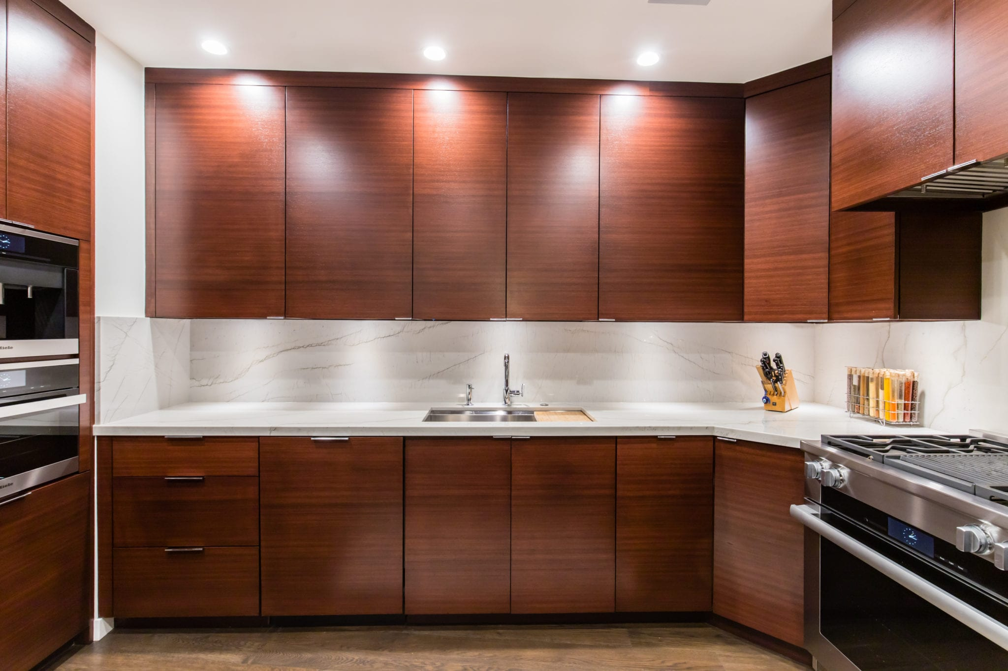 Kitchen Condo Upper Level After Remodeling