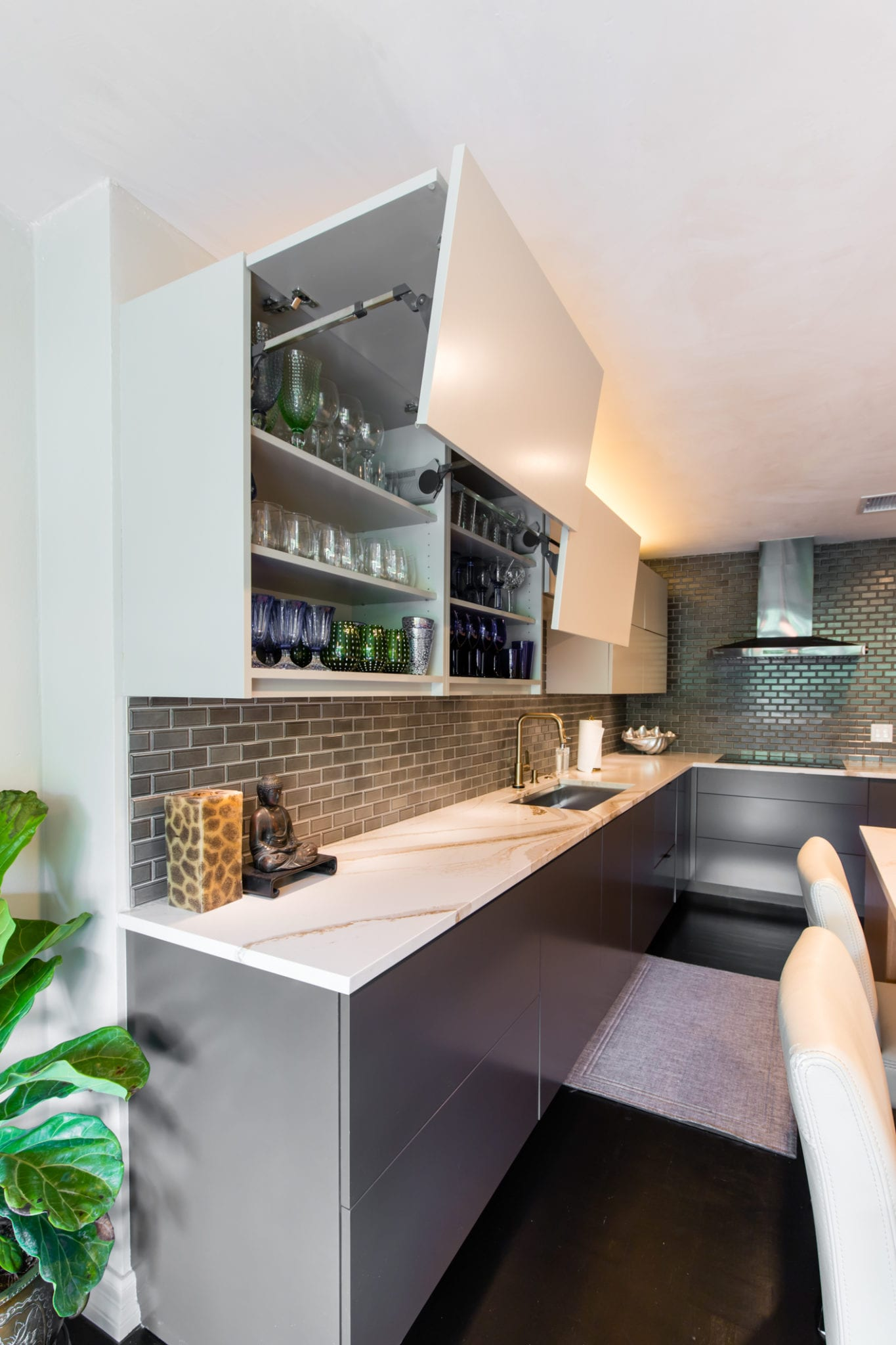 Kitchen-Cabinets-Lift-Up-Doors-Highland-Park-Plaza-Condo-After-Renowned-Renovation-Remodel_83