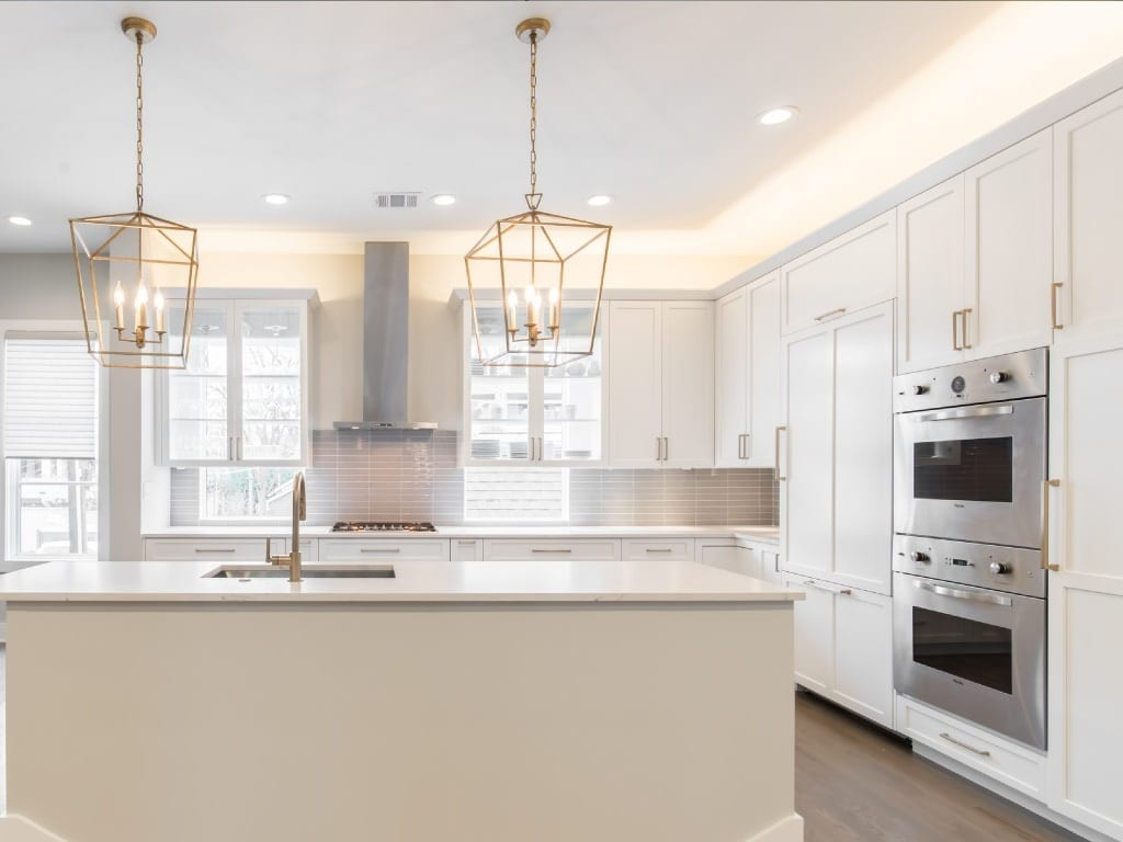 After Renowned Kitchen Remodel Oak Lawn Turtle Creek Texas Townhomes Condo