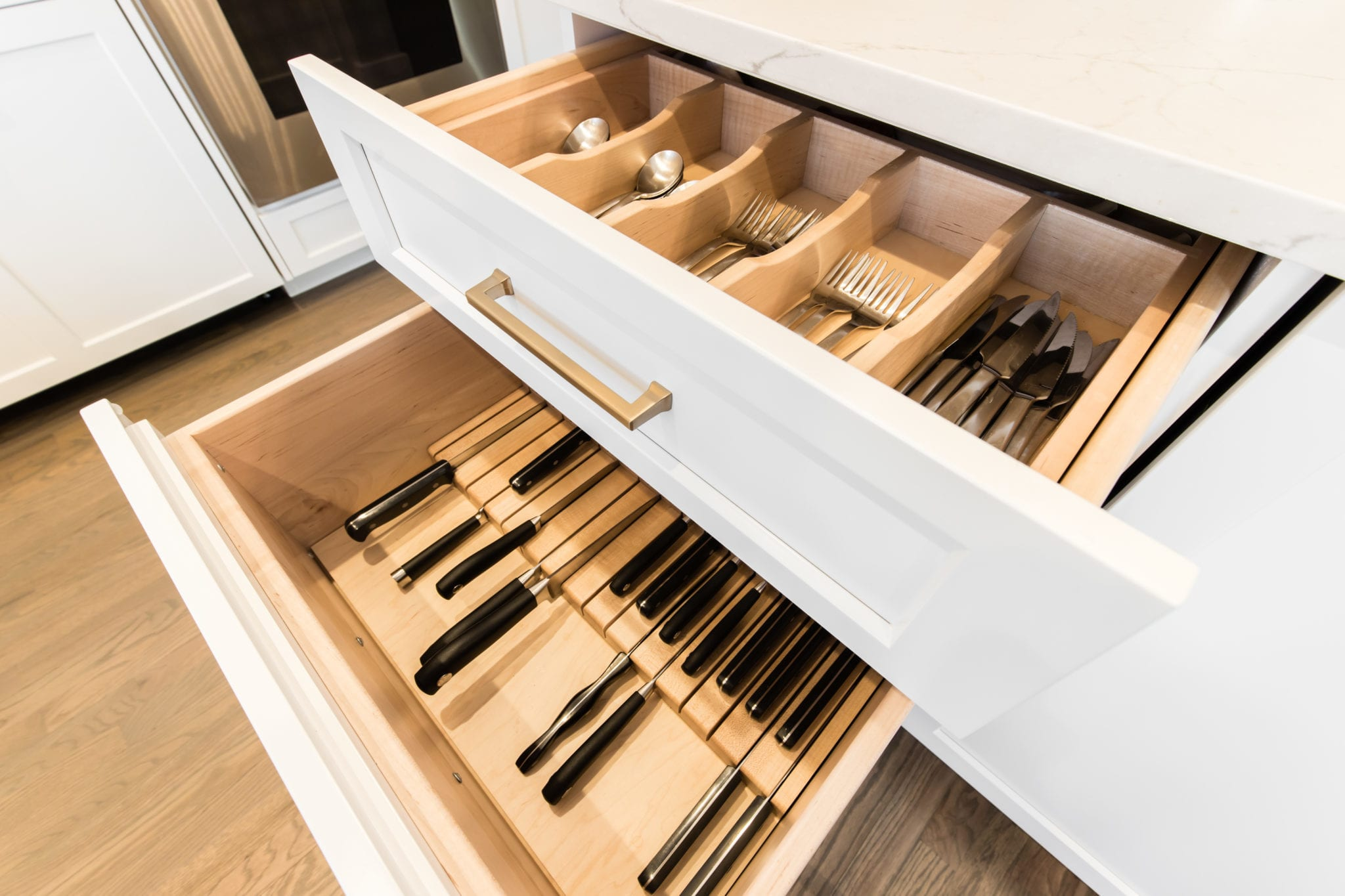 Custom-Cabinet-Drawers-After-Kitchen-Remodel-Turtle-Creek-Texas-Townhome-Condo