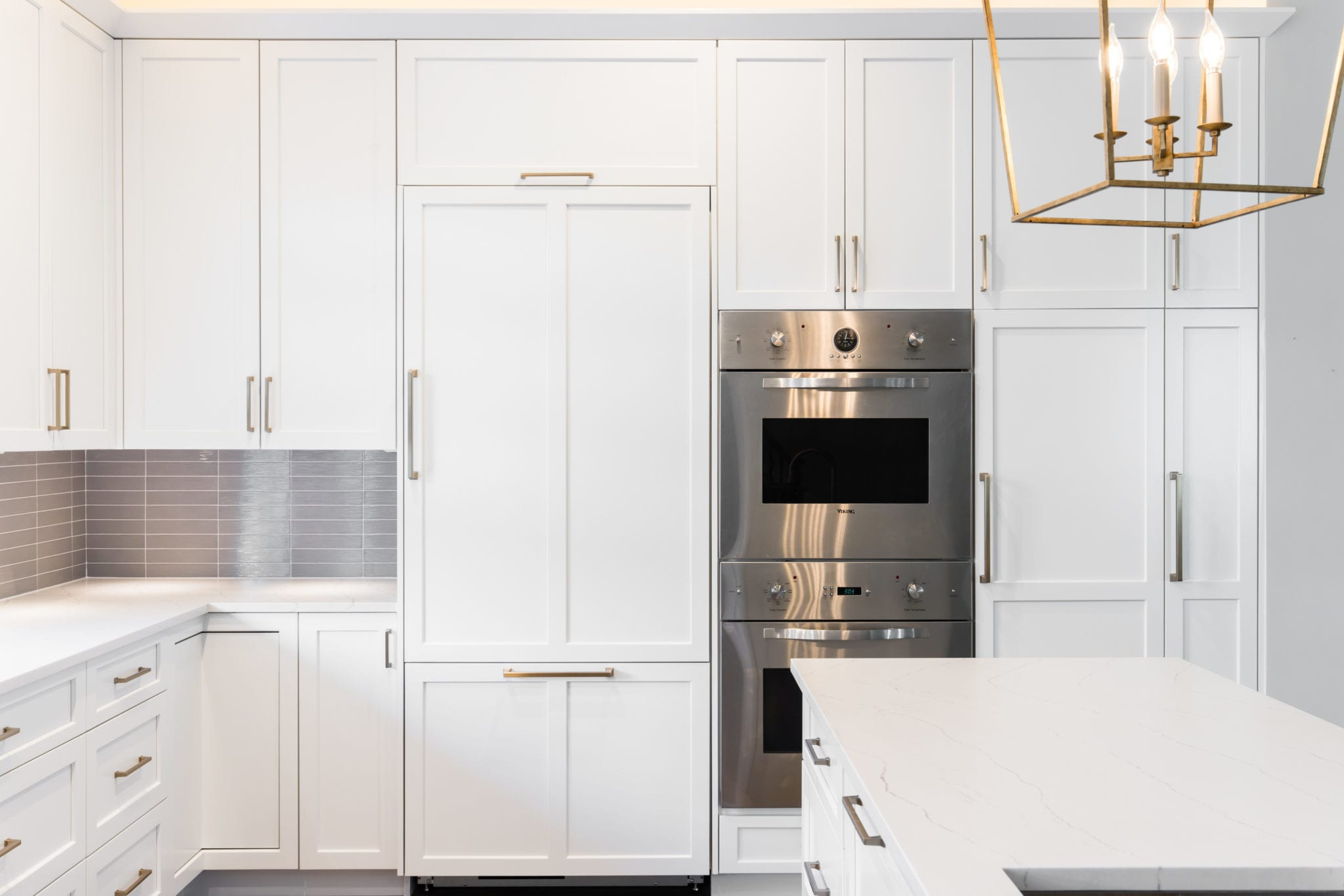 Custom-Cabinetry-Bosch-Oven-After-Kitchen-Remodel-Turtle-Creek-Texas-Townhome-Condo