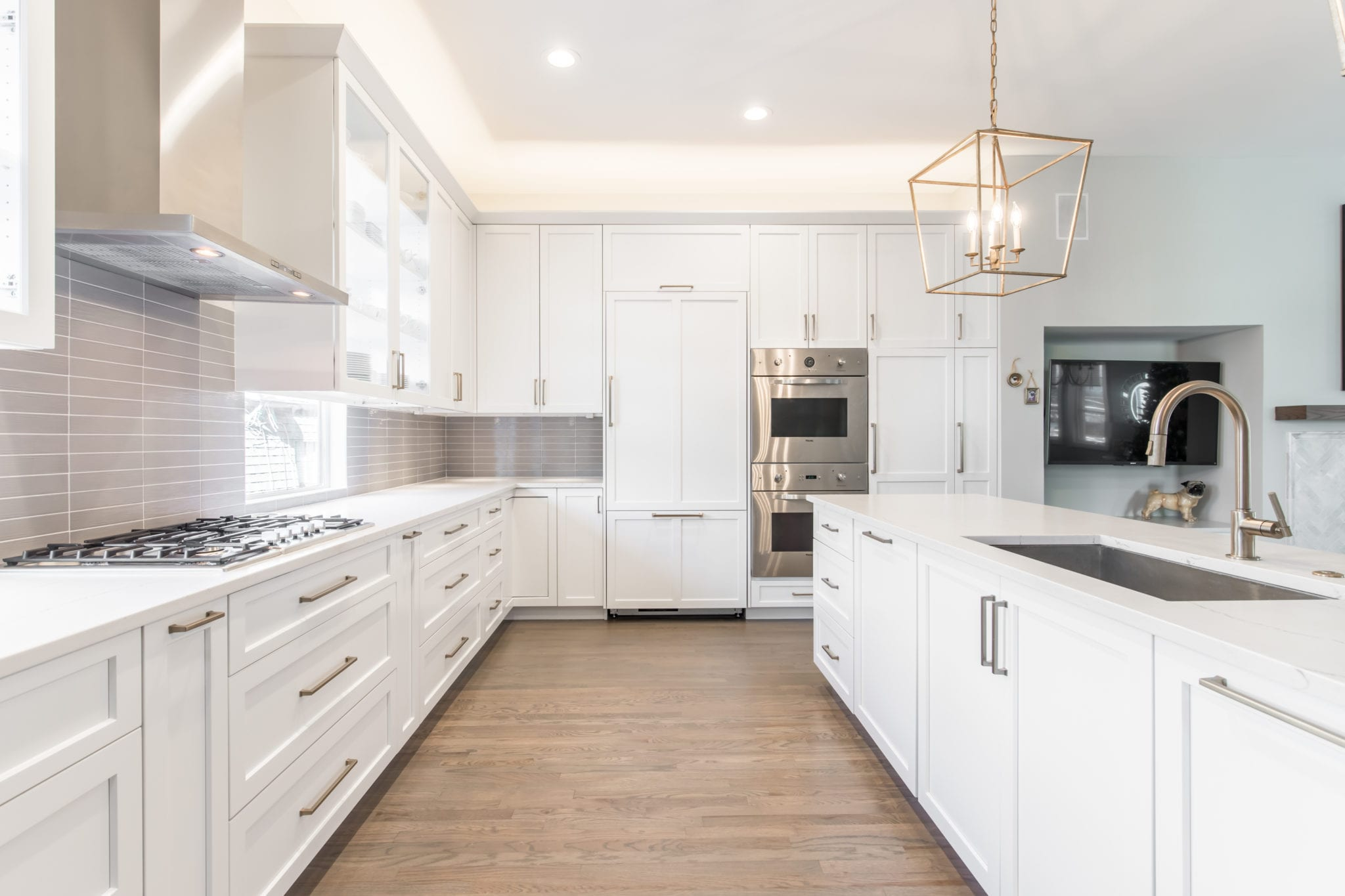 New-Renowned-Kitchen-Cabinets-After-Remodel-Dallas-Texas-Townhome-Condo