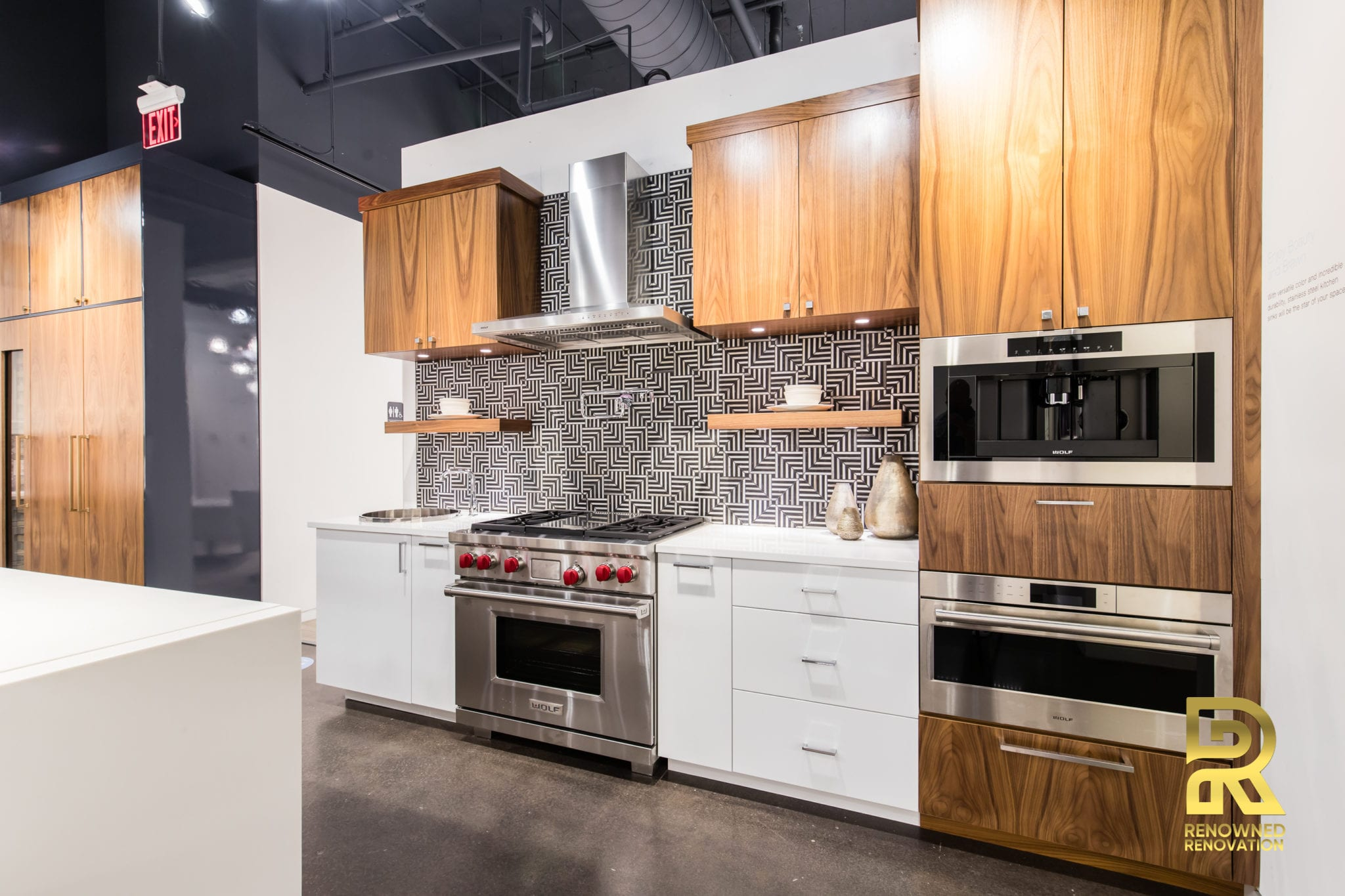 StyleCraft Cabinets Designed for KOHLER Signature Store Dallas TX by Renowned Renovation