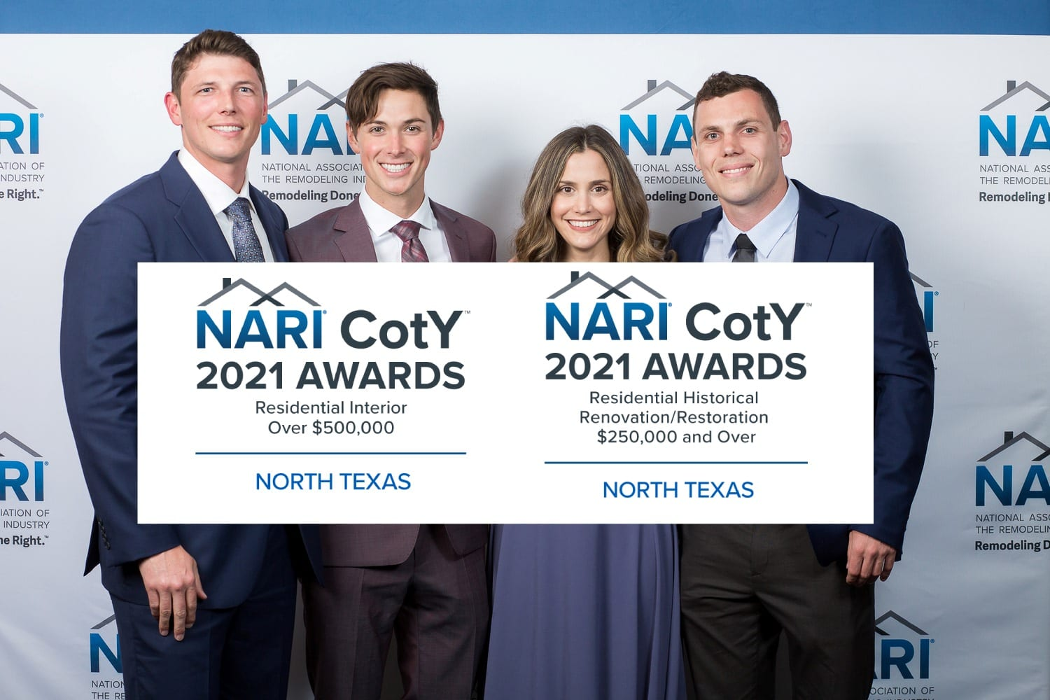 Renowned Renovation Wins Dallas NARI Contractor of the Year Awards