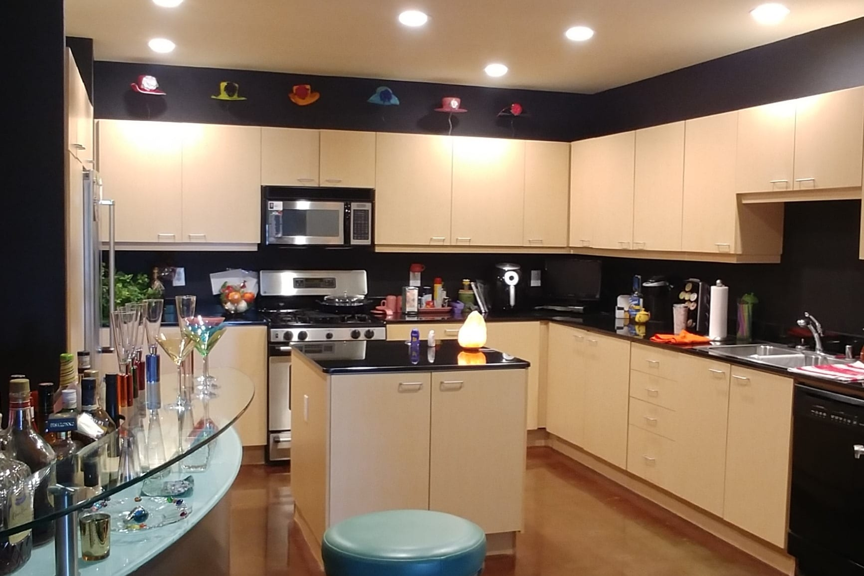 High-Rise Dallas Condo Kitchen Before Remodeling
